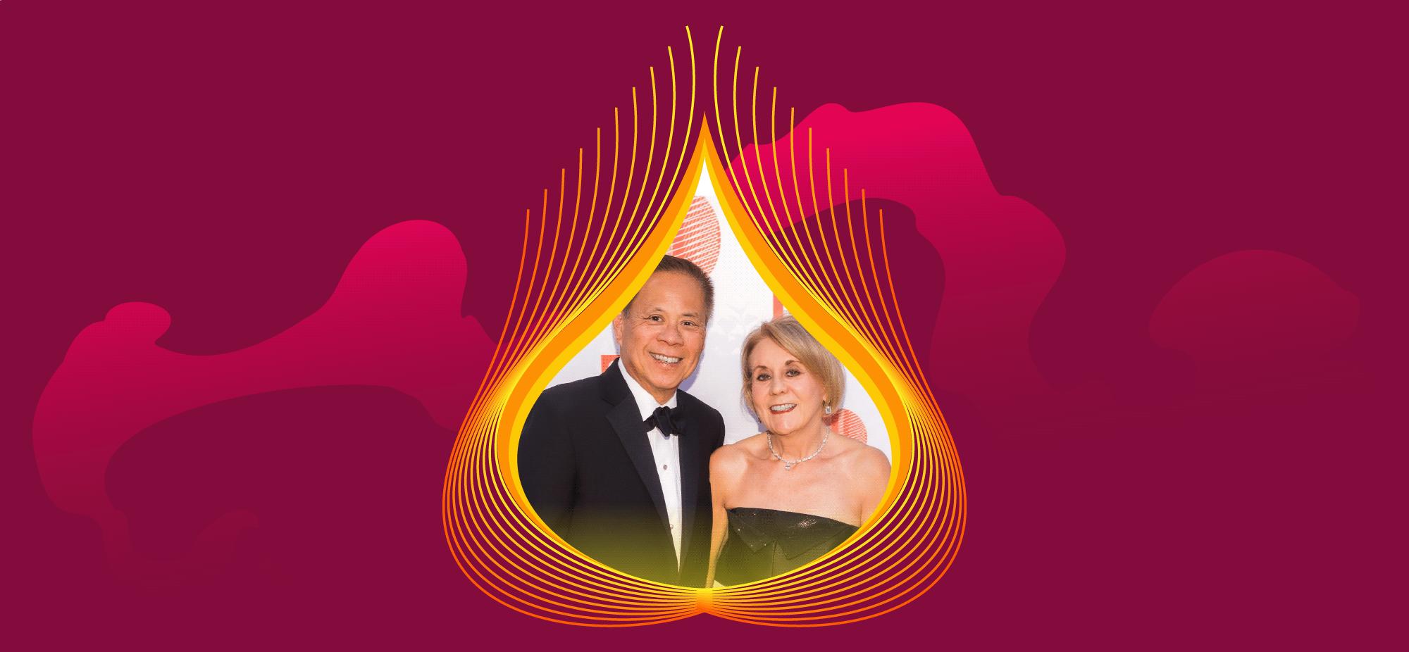 Patron Honorees: Mary Mocas + Marv Tseu