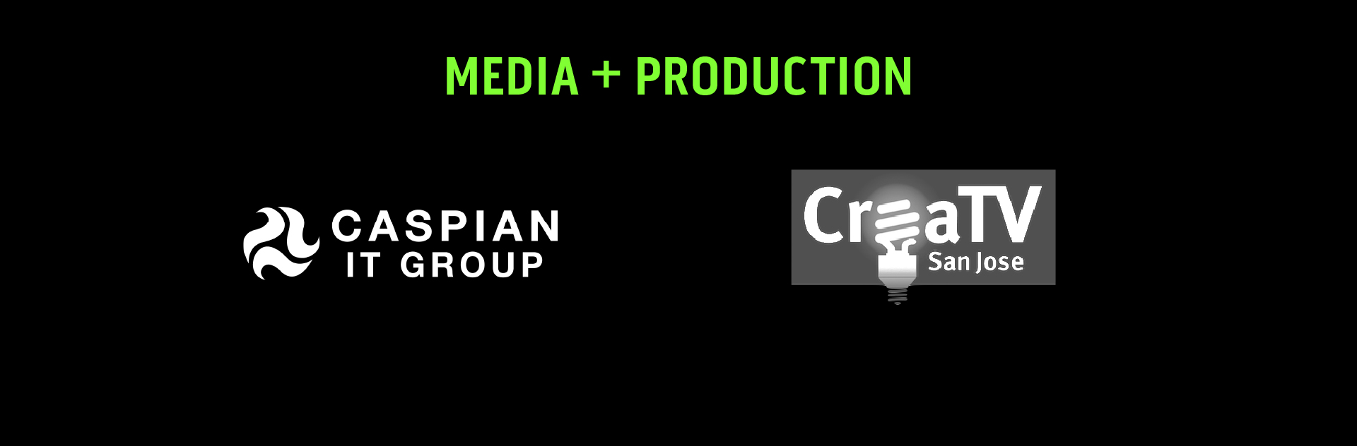 Logos of Media and Production partners
