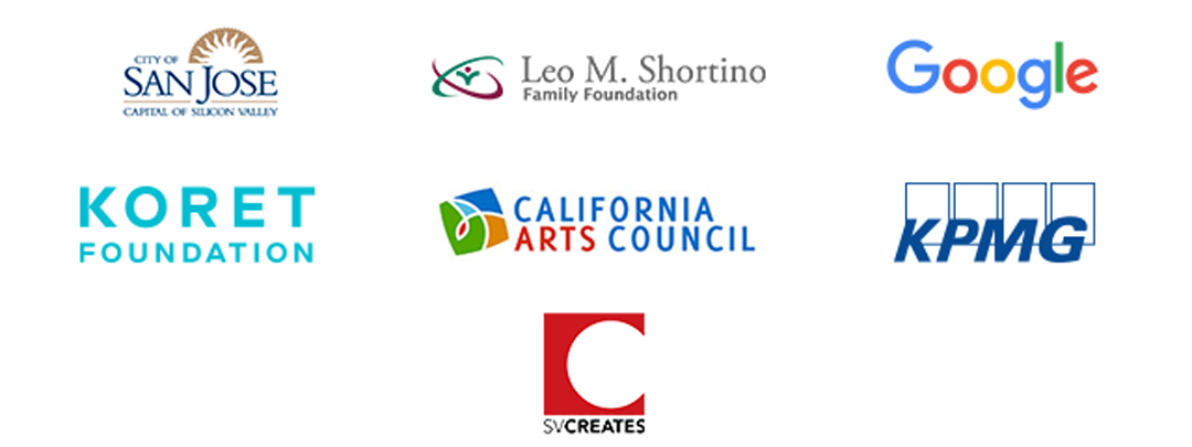 Logos for California Arts Council and Leo M. Shortino Family Fondation